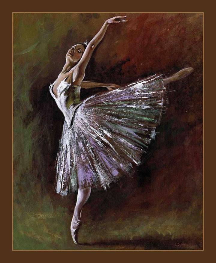 Baletnica, wymiar 40x50 cm